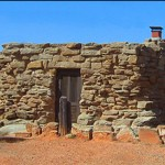 Stone cabins with full utilities