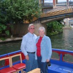 Boat ride on the Riverwalk, San Antonio, TX