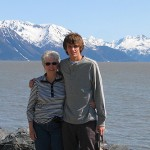 Travis and Jan on Turnagain Arm