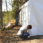 New carport tent