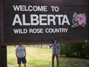 Into Canada finally