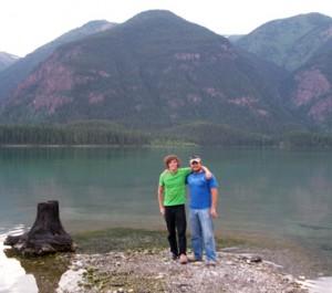 Jordan & Jerod at Muncho Lake
