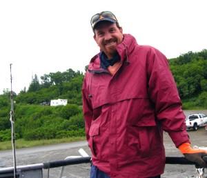 Craig on the Halibut boat