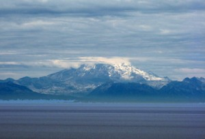 Mt. Redoubt steaming