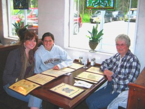 Dinner at St. Elias