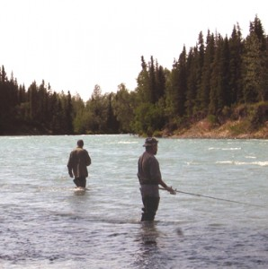 Fishing on the Kasilof