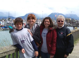 Homer harbor & kids