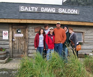 The Salty Dawg Saloon