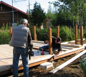 Fastening Joists to Posts