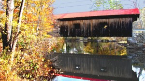 Kenyon Hill Covered Bridge, 1881, over Mill Brook