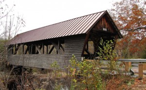 Bump Covered Bridge, unknown builder, over the Beebe river