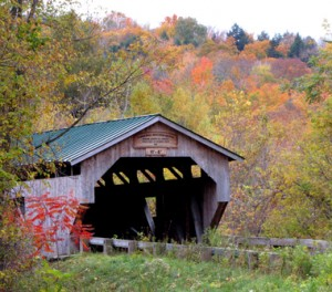 Poland Covered Bridge, Cambridge Junction, VT