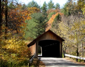 Coombs Covered Bridge, 1837, over the Ashuelot River