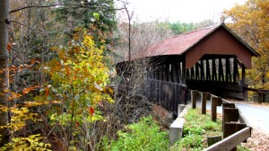 Dingleton Hill Covered Bridge, 1882, over Mill Brook