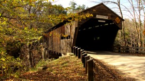 Durgin Covered Bridge, 1869, over Cold river near Sandwich