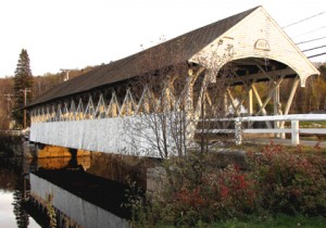 Groveton Covered Bridge, 1852, over the Ammonoosuc river