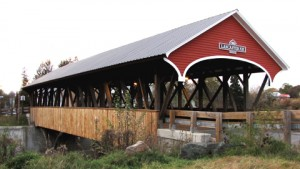 Mechanics Covered Bridge, 1862, over the Israel river