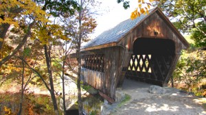 New England College Covered Bridge, 1972, over the Contoocook River
