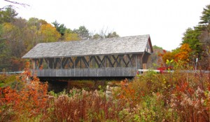 Packard Hill Covered Bridge, 1878-1991, over the Mascoma River