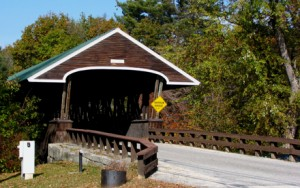 Rowell Covered Bridge, 1853, over the Contoocook River