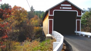 Slate Covered Bridge, 1862, over the Ashuelot River