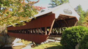 Swift River Covered Bridge, 1869, over Swift river
