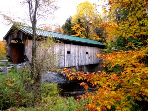 Upper Morgan Covered Bridge, 1887, on Lamoille river