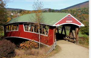 Wentworth Golf Course Covered Bridge over Ellis river