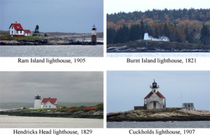 Lighthouses of Boothbay Harbor