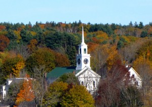Church in Buckport, ME