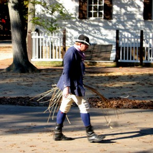 Colonial Williamsburg Cane Weaver