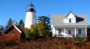 Dice Lighthouse, 1838, Castine, ME