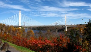 Fort Knox Bridge over the Penobscot River