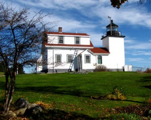 Fort Point Lighthouse, 1836, Stockton Springs