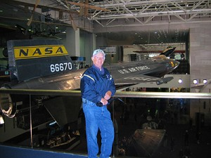 X-15 Airplane at Air & Space Museum