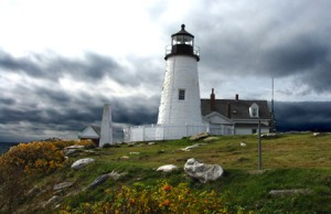 Pemiquid Point Lighthouse,1827, Bristol, ME