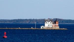 Rockland Breakwater Lighthouse, 1902