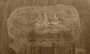 Carving on Stone Mountain