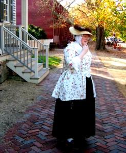 Lady at Colonial Williamsburg