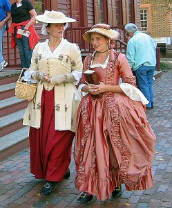 Mother & Daughter at Colonial Williamsburg