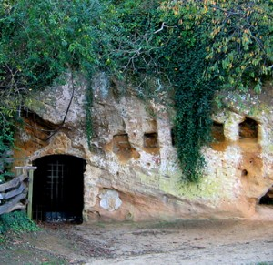 Surrender Cave in Yorktown, VA