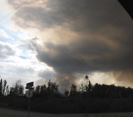 1 Refuge forest fire