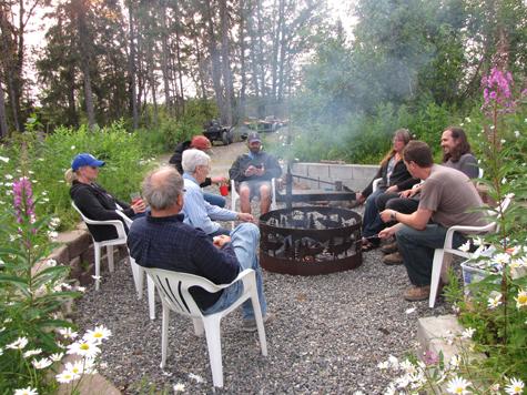 9A arond campfire