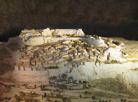 Model of the Original Les Baux