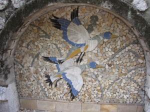 10a mosaic ducks
