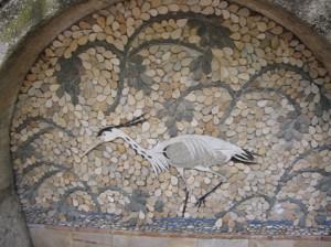 10b mosaic egret**