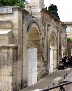 Entrance to the Roman Theater