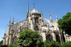 Notre Dame Flying Butresses