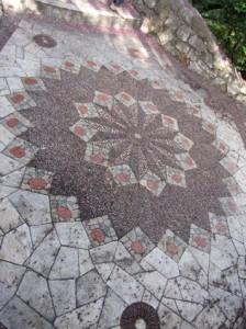 Stone Pathway Mosaic