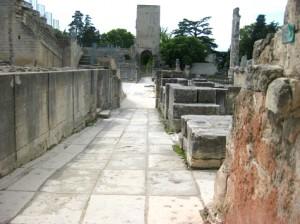 Roman Walkway into the Theater